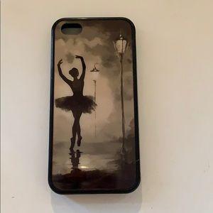 Accessories - iPhone 5 ballerina custom case